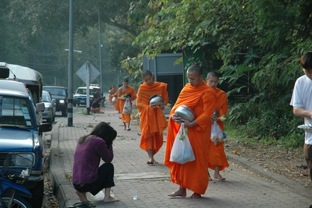 Buddhism in the life of the Thais