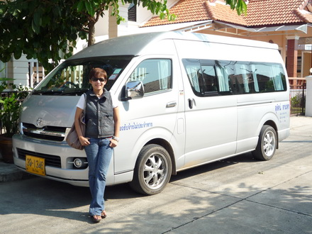 VIP private Van or Car at disposal in Chiang Mai