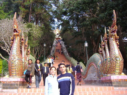 Chiangmai Sightseeing Tours half day 4:Doi Suthep temple and Hmong hill tribe